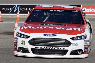 Ryan Blaney - Michigan International Speedway