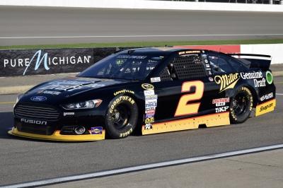 Brad Keselowski - Michigan International Speedway