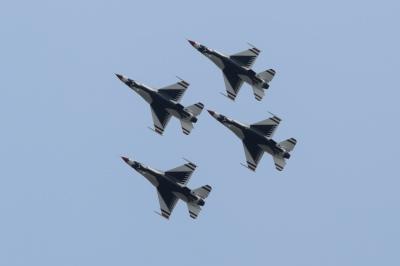 USAF Thunderbirds - Traverse City, MI
