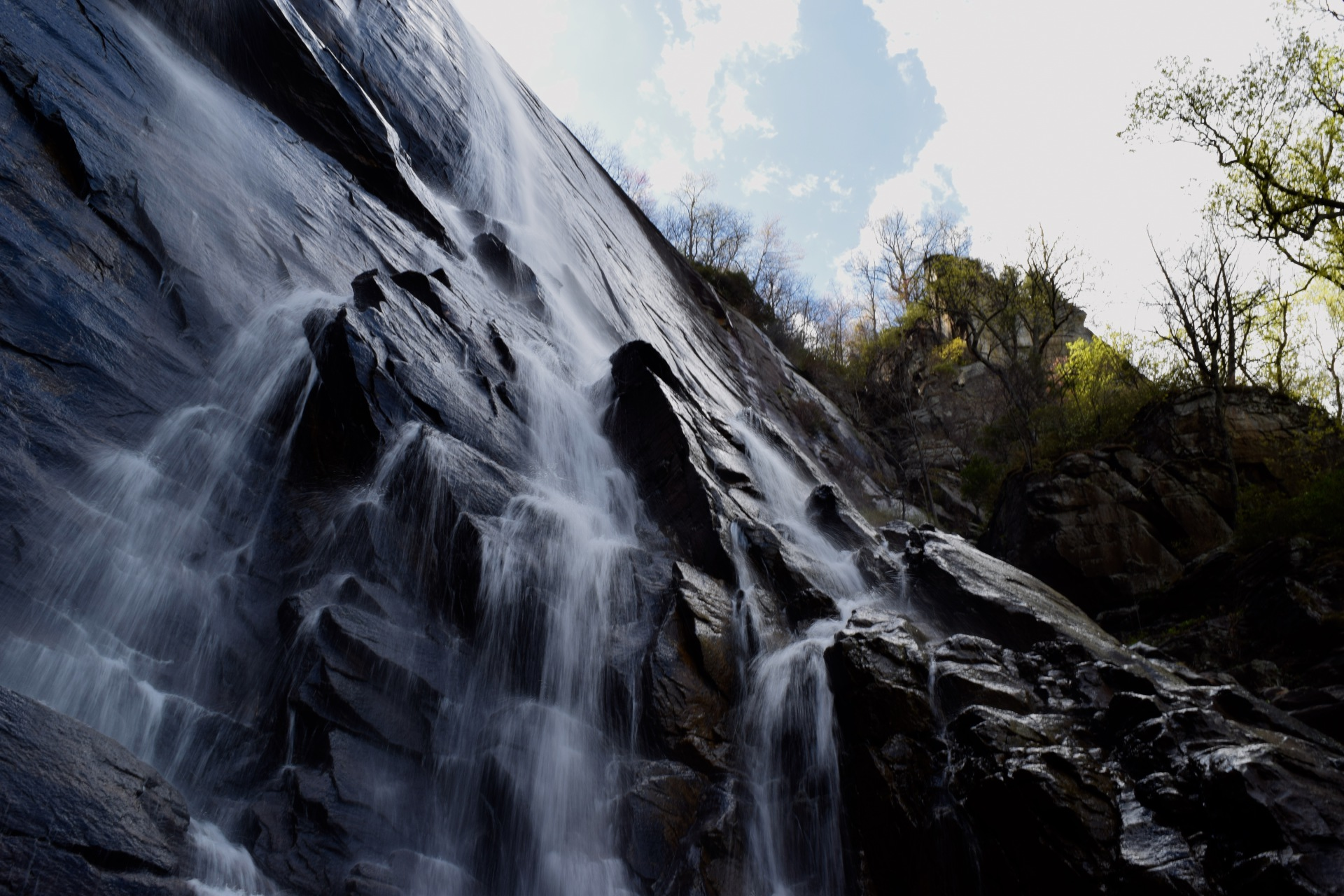 Hickory Nut Falls - Chimney Rock, NC
