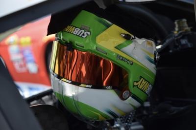 Carl Edwards helmet - Charlotte Motor Speedway
