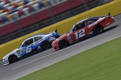 Bubba and Blaney - Charlotte Motor Speedway