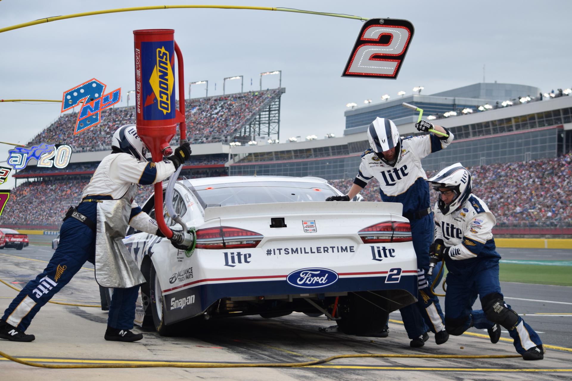 2 team - Charlotte Motor Speedway