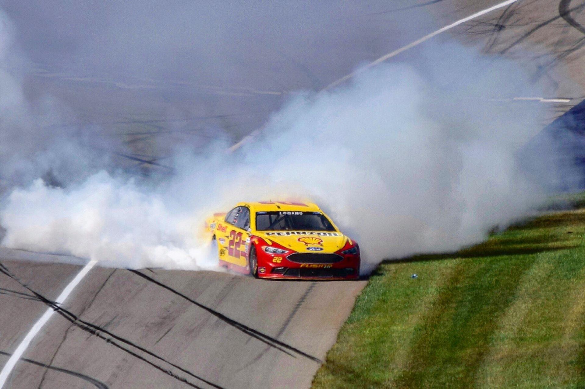 Joey Logano - Michigan International Speedway