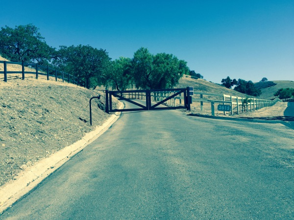 Custom Steel Gate with Liftmaster LA500 Swing gate actuators with solar power upgrade
