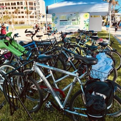 Green Market Bicycle Valet