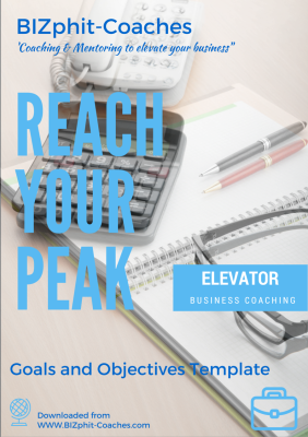 Business Coaching - Goals and Objectives Template