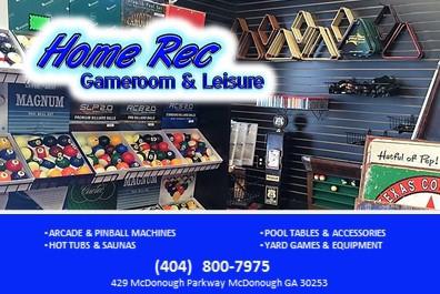 Home Rec. Gameroom & Leisure
