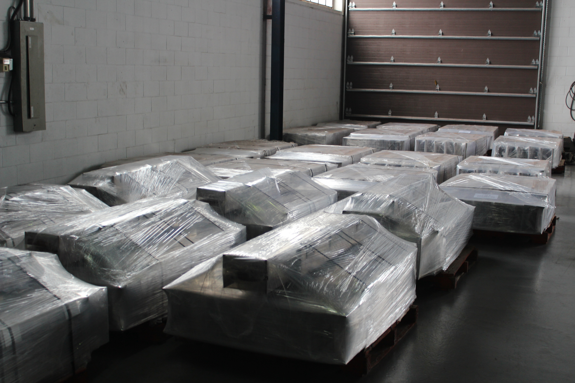 friction dampers shipment
