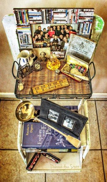 family, ancestors, memorabilia