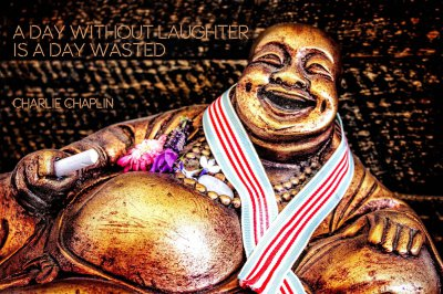Laughing Buddha (C) DA Stott (Greasley) 2015
