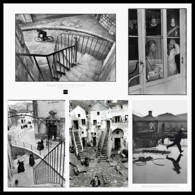Henri Cartier-Bresson photographs to illustrate my point