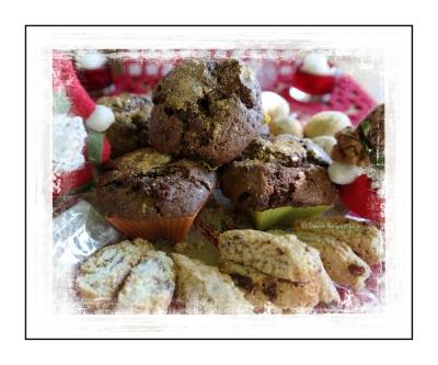 Christmas morning muffins (C) Deborah Ann Stott 2016
