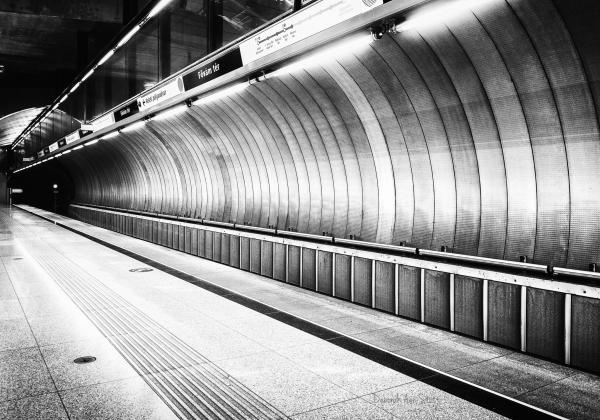 Budapest Subway (C) Deborah Ann Stott 2016