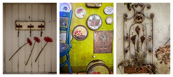 Quirky wall displays © Deborah Ann Stott 2017