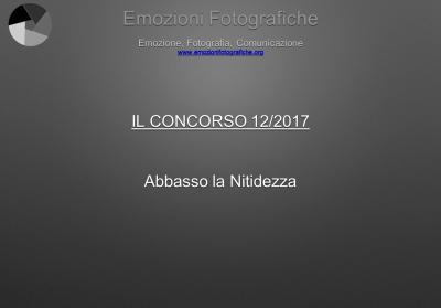 Il concorso del mese - Dicembre 2017
