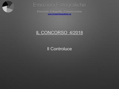Il concorso del mese - Aprile 2018