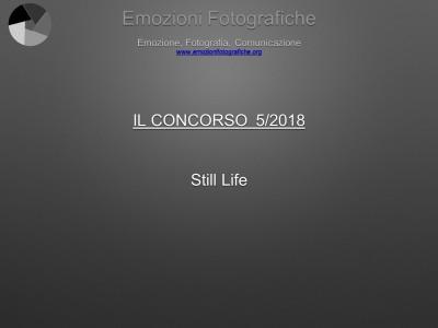 Il concorso del mese - Maggio 2018