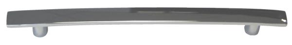 TH340 Slim Chrome 'D' Handle