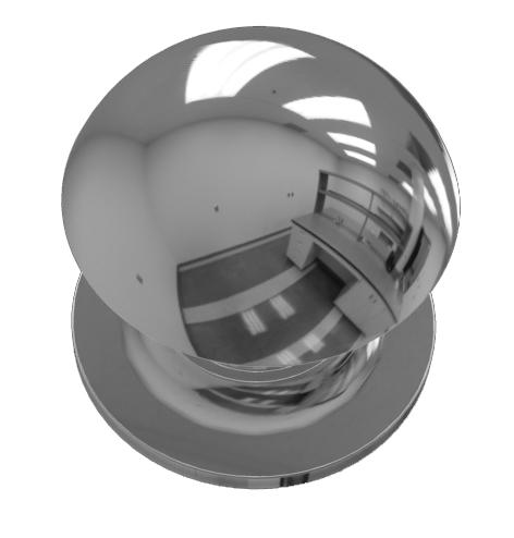TH1008 Chrome Knob & Shell Set