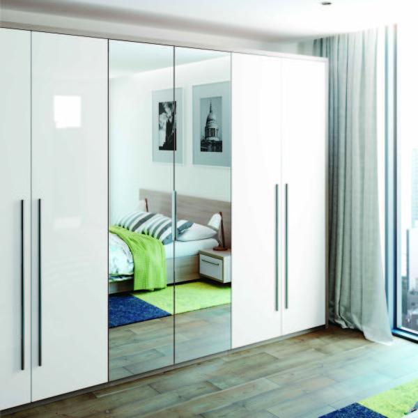 Mirrored Wardrobes Sliding Doors