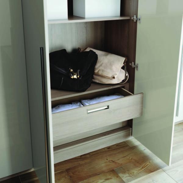 Fitted Bedroom Furniture Internal Storage Walk-in Wardrobes