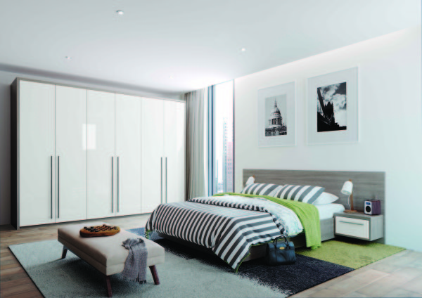 Fitted Bedroom Furniture High Gloss