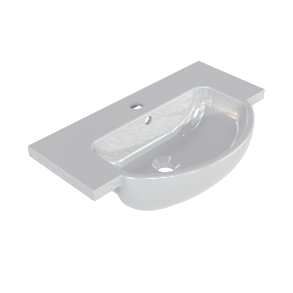 220mm Mineral Cast Basin