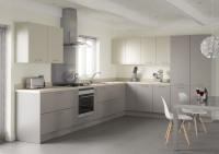 Mussel & Pumice Slab Fitted Kitchen