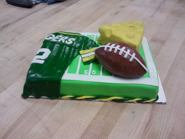 Packer Grooms cake