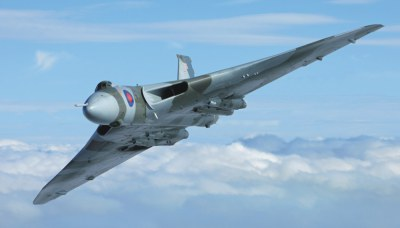 Local Renewables Company Show Support for the Last Flying Vulcan Bomber
