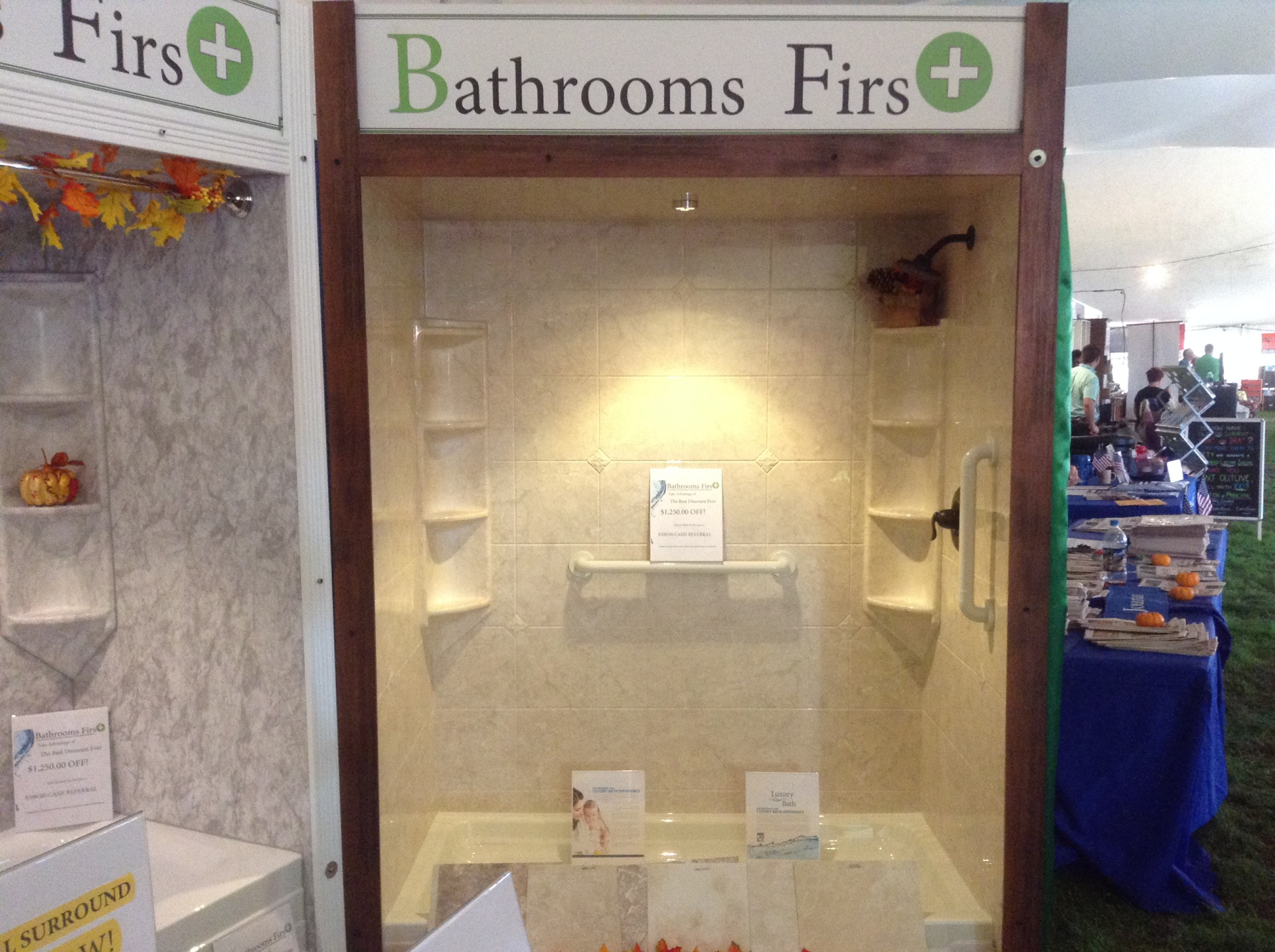 Custom Tile Enclosures