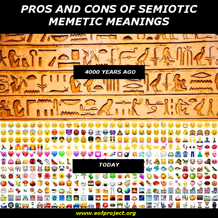 Pros And Cons Of Semiotic Memetic Meanings