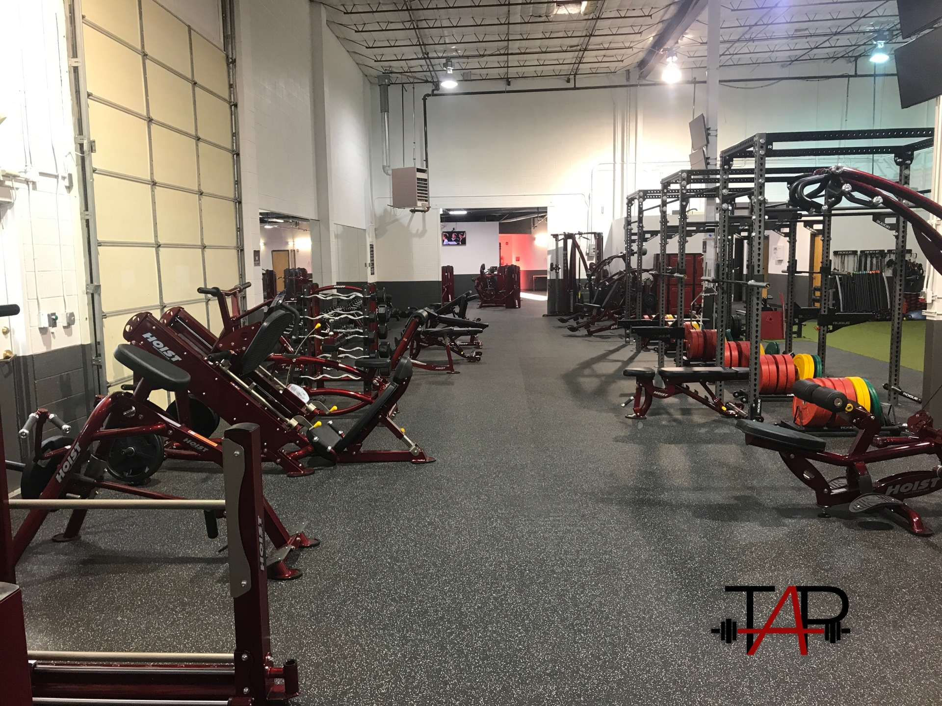 Free Weight Area West