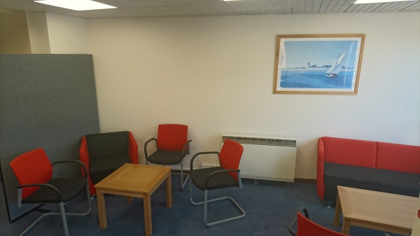 Ground floor reception/break out area