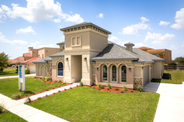 Waters Edge Model Home Exterior 6