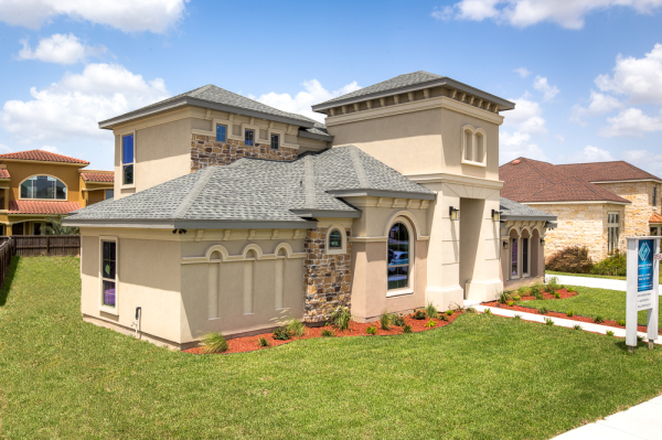 Waters Edge Model Home Exterior 7