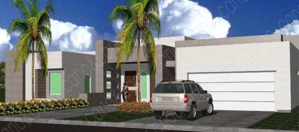 Modern Model Home 1