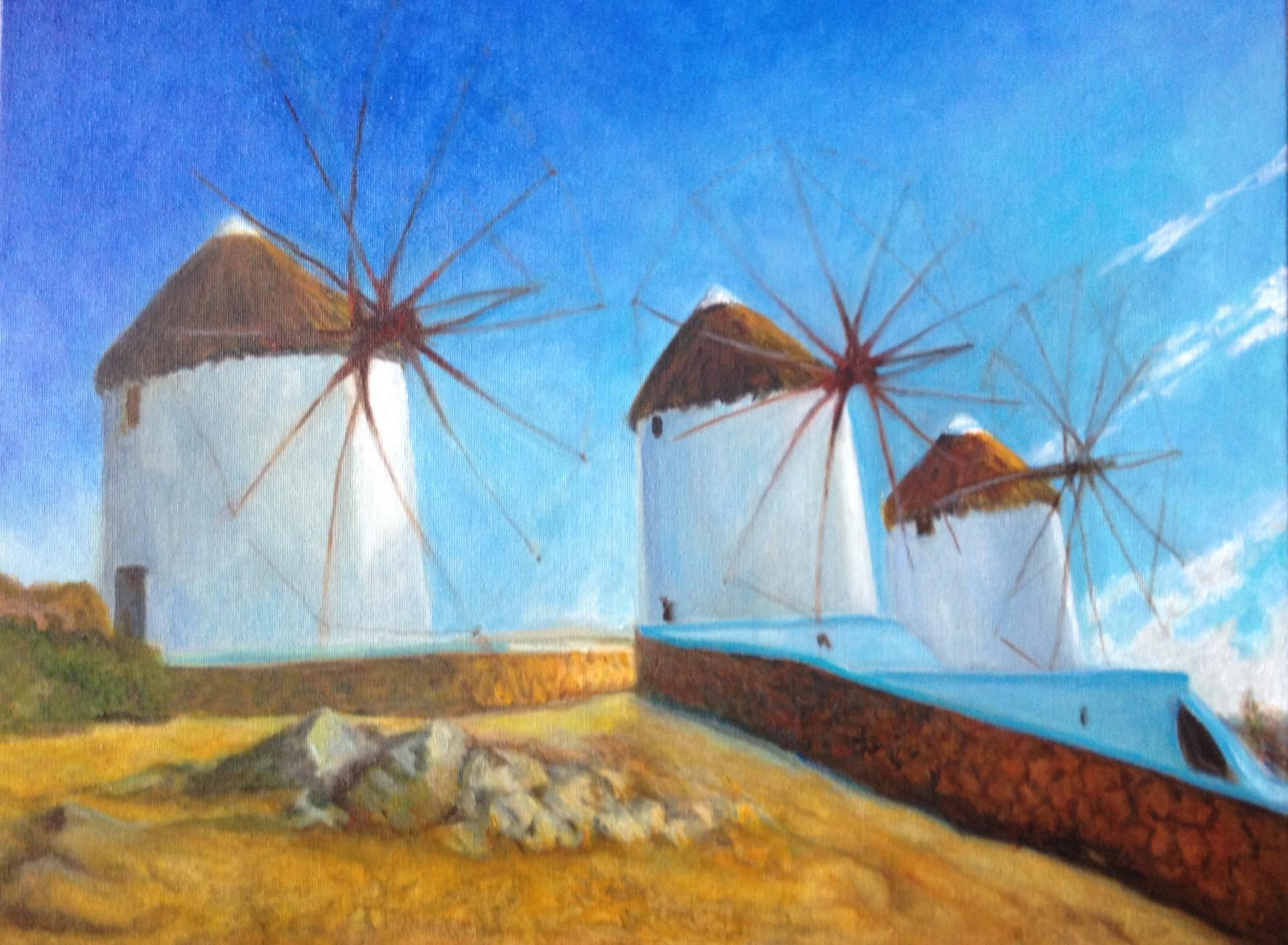Windmills Greece