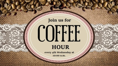 Coffee Hour -February 28th, 2018