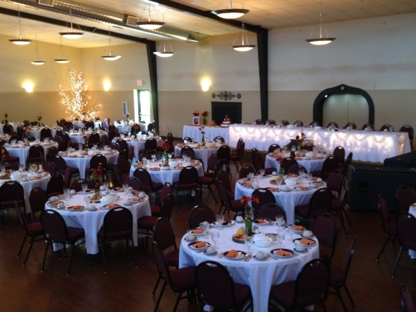 Indoor Banquet Room