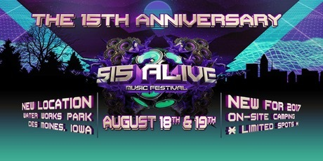 515 Alive Music Festival, Des Moines Iowa
