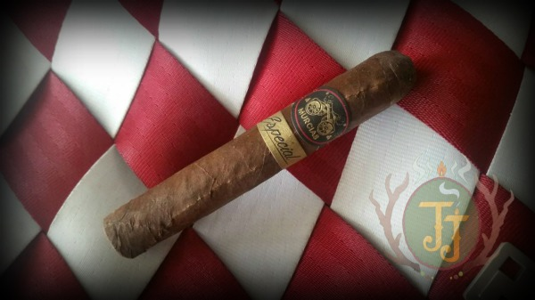 Caldwell Murcias Especial Robusto cigar review by JJ Cigar Review. Courtesy of Cigars City.