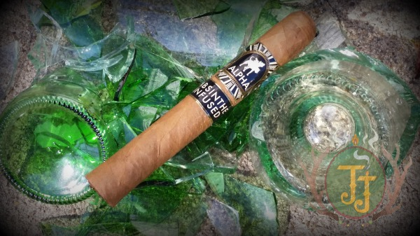 Alpha Absinthe Infused Limited Edition Corona Cigar Review by JJ Cigar Review