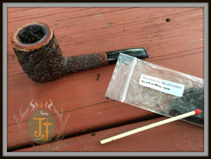 Just For Him Shortcut to Mushroom pipe tobacco review by JJ Cigar Review. Courtesy of Just For Him.