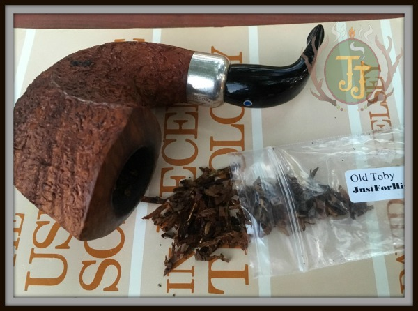 Just For Him Gift Shop Old Toby pipe tobacco review by JJ Cigar Review