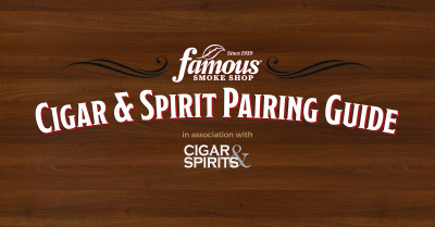 Famous Smokes Cigarand Spirit Pairing Guide JJ Cigar Review