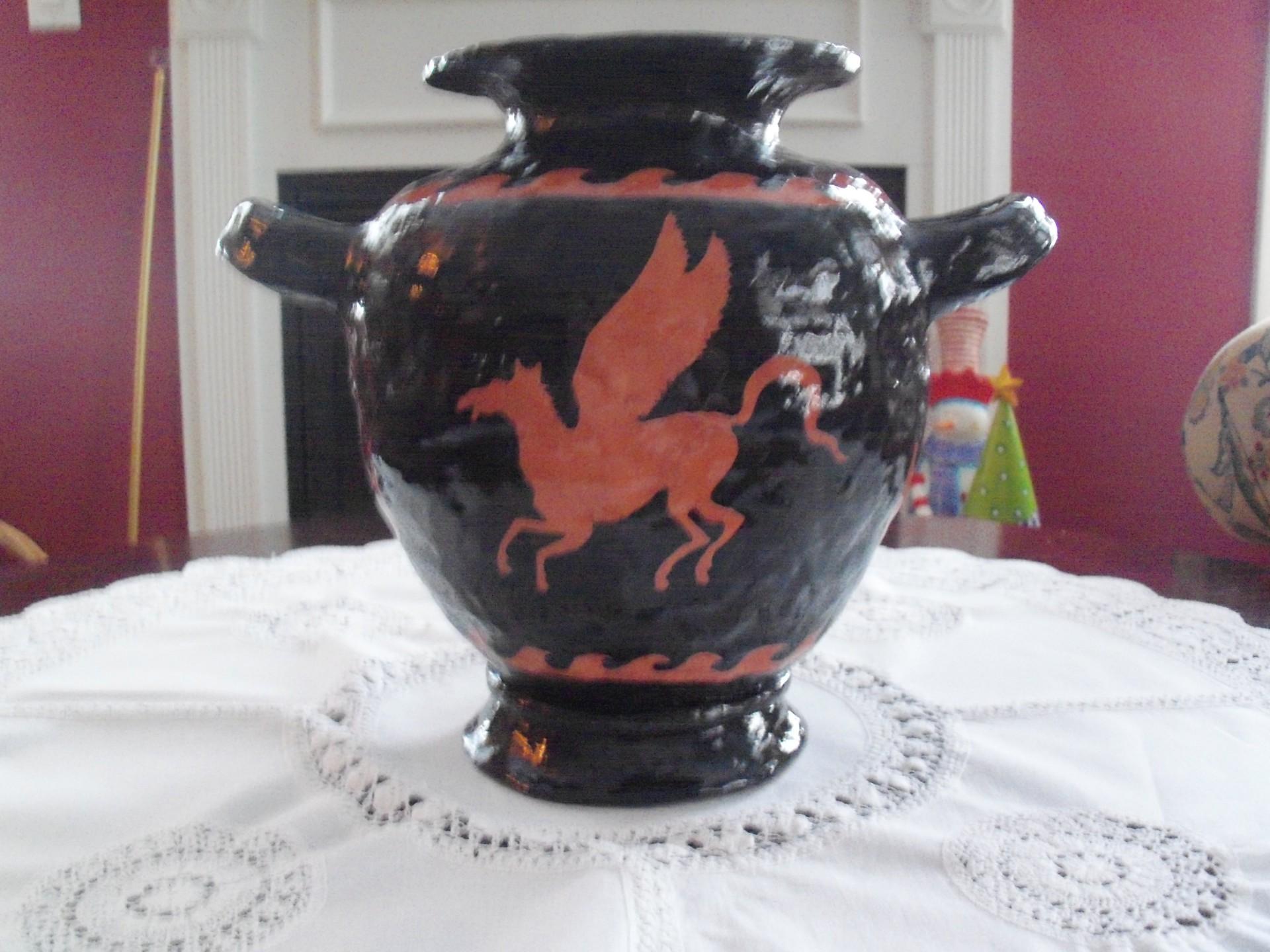 Greek Pot Front