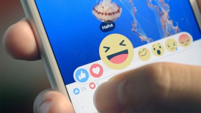Facebook's newest feature the reactions buttons
