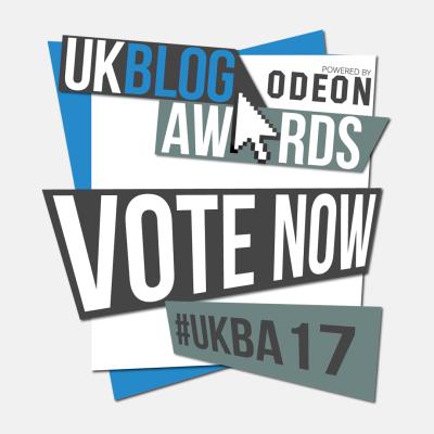 UK Blog Awards 2017 Nomination